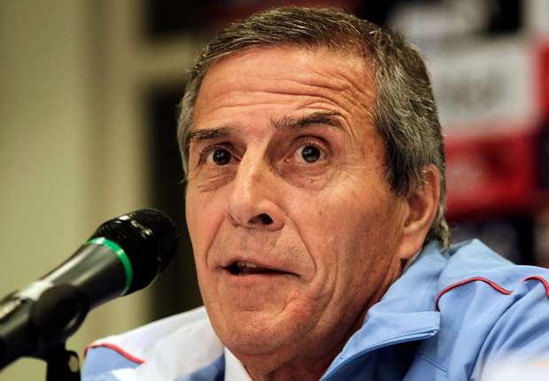 Tabarez: Uruguay showed fighting spirit