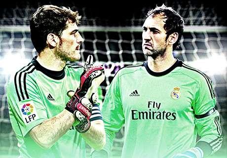 La portería del Real Madrid debe afrontar cambios