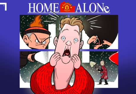 Van Gaal & Mourinho in Home Alone