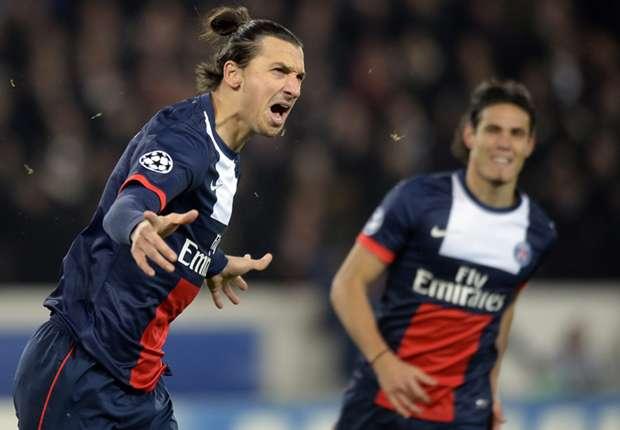 Ibrahimovic, jugador del PSG