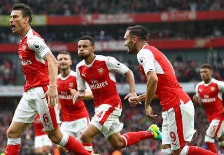 Premier: Arsenal 2-1 Southampton