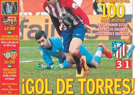 BACK PAGES: Torres hits 100