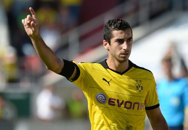 Mkhitaryan will have a big impact at Manchester United, says Gundogan