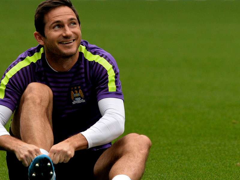 Lampard's stunning strikes in Manchester City training