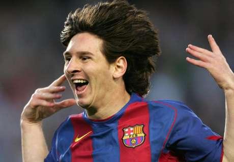 A história de Messi: os primeiros dias do