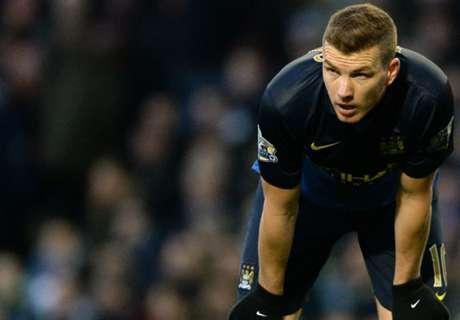 'Dzeko wants to stay' - agent