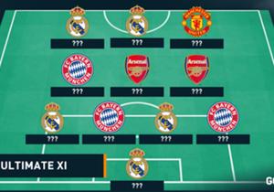 Gelandang Arsenal tersebut memilih pemain-pemain untuk mengisi tim impiannya. Terdapat beberapa bintang Real Madrid, namun hanya ada dua pemain Arsenal...
