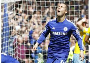 MAY, 2015 | SEALED WITH A MISS | In an oddly subdued performance from most on show, Eden Hazard's header, after his initial penalty attempt was missed, was enough to seal the crucial three points as Chelsea claimed their first Premier League title in f...