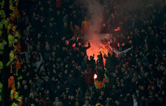 Uefa charges Manchester United and Liverpool following Europa League crowd trouble