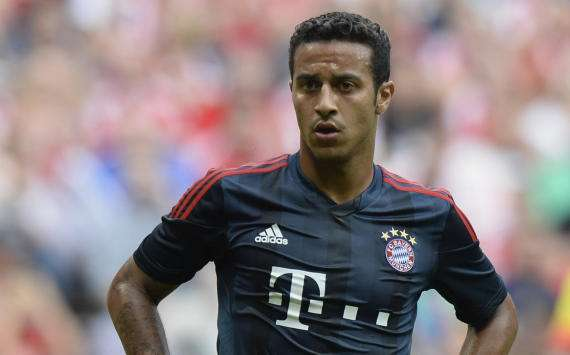 Thiago could miss rest of Bayern season