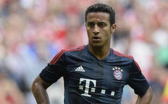 Bayern Munich midfielder Thiago to miss Man United tie