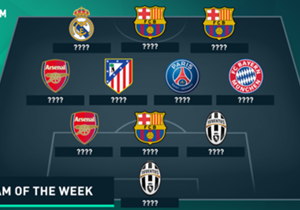 It's been one of the most goal-packed Champions League matchdays in recent memory, with hordes of first-class performances. As a result, some huge names – such as Zlatan Ibrahimovic, Mesut Ozil, Neymar and Thomas Muller – have missed out on a spot in t...