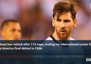 Lionel Messi has retired from international football following Argentina's Copa America final defeat against Chile. Here, Goal takes a look at every game he has ever played for his country...