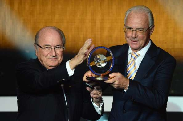 Beckenbauer provisionally banned from football