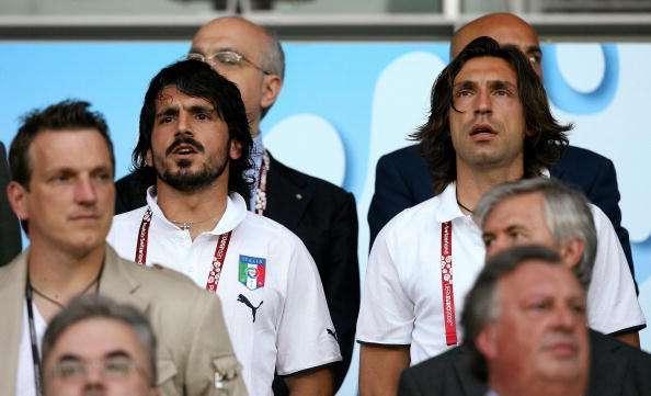 Gennaro Gattuso und Andrea Pirlo