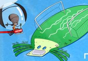 Gervinho'nun dünyası! Fildişili oyuncu Al Jazire'den transferi için ada ve helikopter istedi.