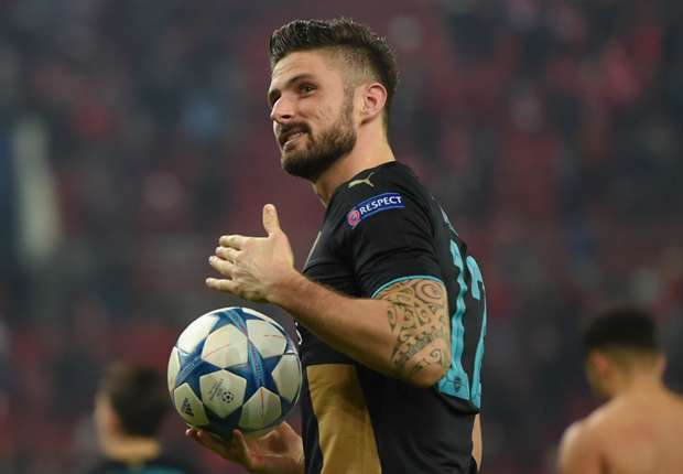 Being dropped was good for Giroud, says Flamini