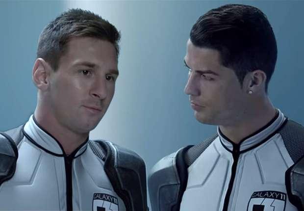 Lionel Messi und Cristiano Ronaldo wollen die Welt retten