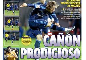 <strong>MARCA | SPAIN | A PRODIGIOUS CANON |</strong> MODRIC GENIUS RESCUES MADRID