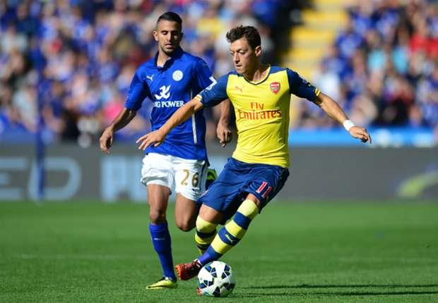 Mesut Ozil Premier League Leicester v Arsenal 310814