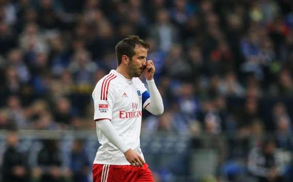 Rafael van der Vaart kämpft mit dem Hamburger SV gegen den Abstieg - ein Sommertransfer ist möglich