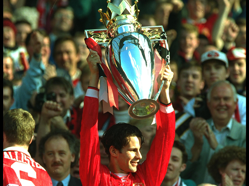 Ryan Giggs Manchester United Coventry Premier League 05081994