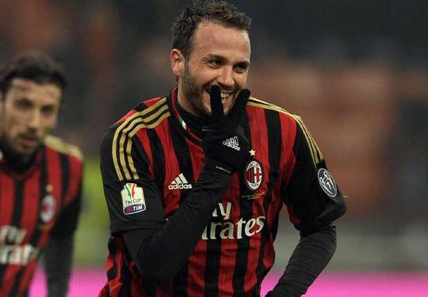 Pazzini in goal per il Milan