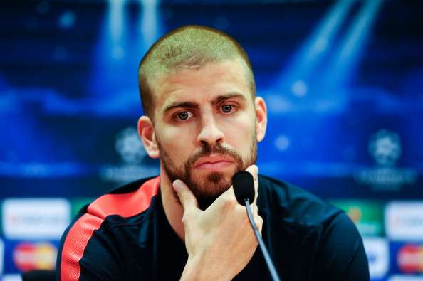 Pique the best centre-back in the world, says Barcelona president Bartomeu