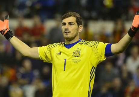 Letonia no acepta récord de Casillas