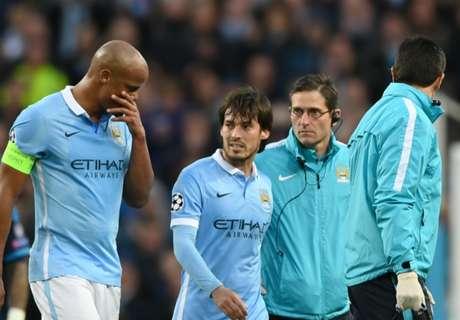 Silva verlaat halve finale met blessure