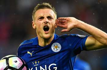 Vardy back in the old routine as misfiring Leicester hangs on