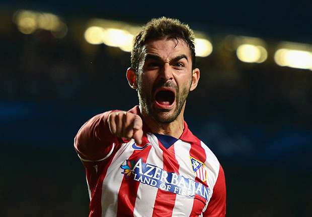 Adrian Lopez Chelsea Atletico Madrid Champions League semi final 04302014