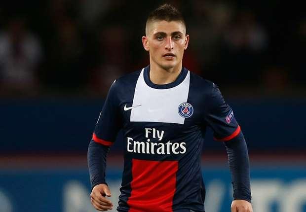 Verratti, jugador del PSG