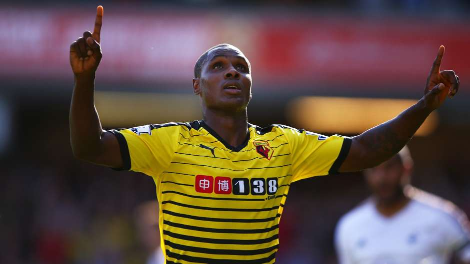 Odion Ighalo Watford Swansea City Premier League 12092015