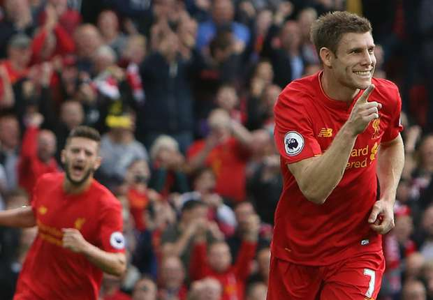 Liverpool 5-1 Hull City: Milner grabs double as Reds run riot