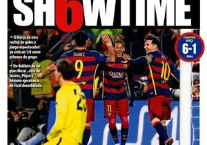 <strong>MUNDO DEPORTIVO | Spain | SH6TIME |</strong> Barca give another concert of goals and spectacular play: they are already in the last-16 as first in group