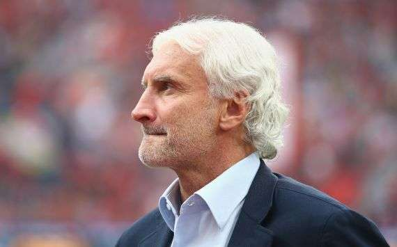 Sein Verein geht voran: Rudi Völler