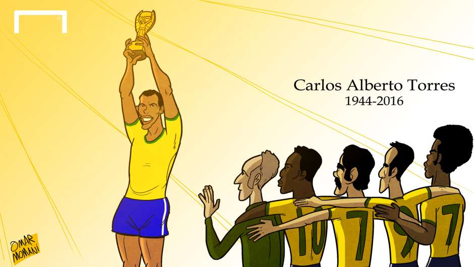 CARTOON Carlos Alberto passes away