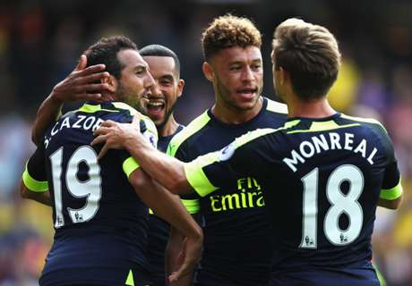 Arsenal claim first win of PL season