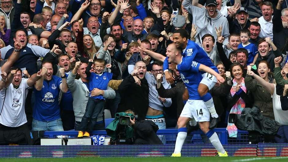 Steven Naismith Everton Chelsea Premier League 12092015