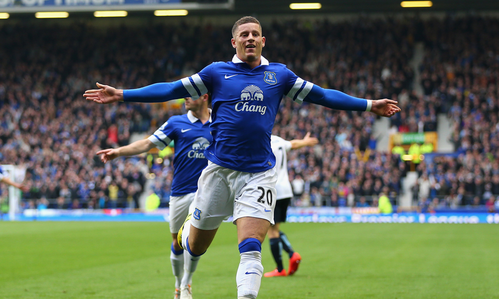 Ross Barkley Everton Manchester City Premier League 05032014