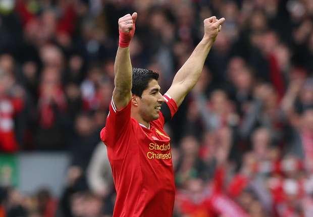 Luis Suarez vom FC Liverpool ist Englands Fußballer des Jahres