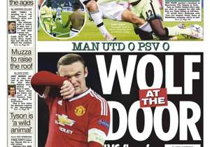 <strong>THE SUN | UK | WOLF AT THE DOOR |</strong> LVG flops face Germany crunch