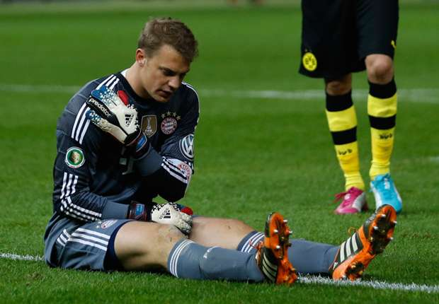 Neuer brushes off injury concerns