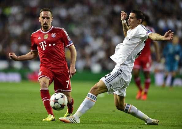 Bayern ist mit Franck Ribery erneut gegen Real Madrid gefordert
