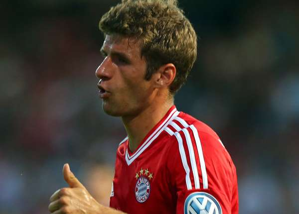 BSV SW Rehden v Bayern Muenchen - DFB Cup, Thomas Müller