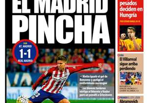 <strong>MUNDO DEPORTIVO | Spain | THE MADRID CLICK |</strong> Vietto equalises Benzema goal to punish Los Blancos, who took the lead with Keylor Navas saving Griezmann's penalty <br />PLUS: <strong>Premier League: Manchester City lead, Abramovich confi...