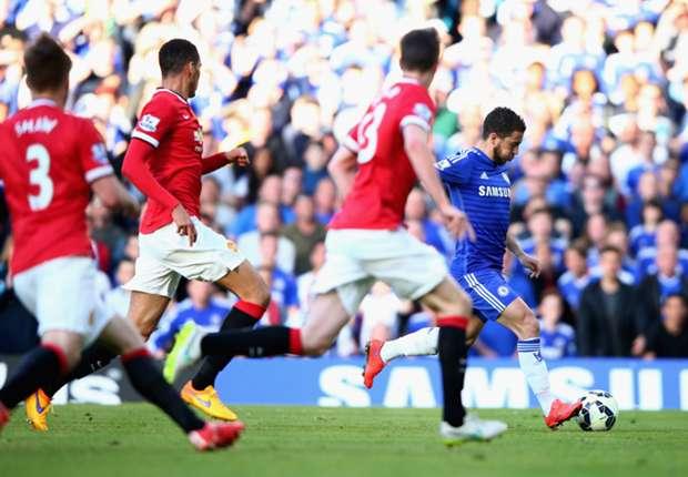 Chelsea-Manchester United 1-0, Hazard et Chelsea filent vers le titre