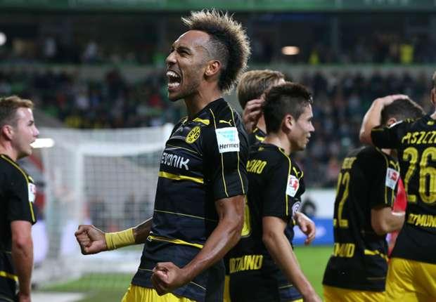Manita del Borussia Dortmund en casa del Wolfsburgo