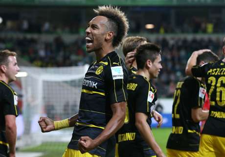Aubameyang gets two in big BVB win